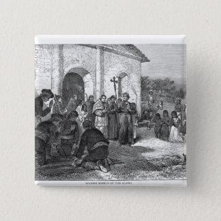 Spanish Mission of the Alamo Pinback Button