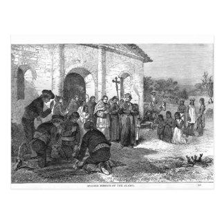 Spanish Mission of the Alamo Postcard