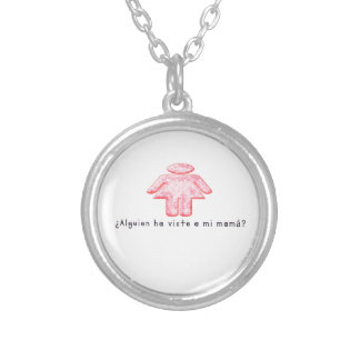 Spanish-Momma Silver Plated Necklace