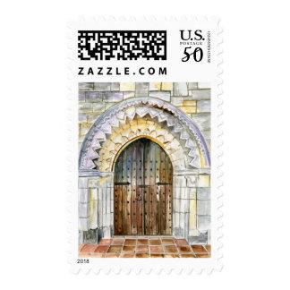 Spanish Monastery Doors Postage