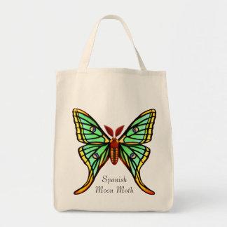 Spanish Moon Moth Customizable Bag