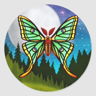 Spanish Moon Moth Sticker