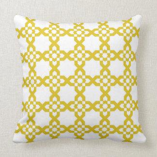 Spanish Moroccan fretwork Throw Pillow