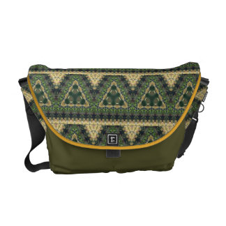Spanish Moss Abstract Courier Bag