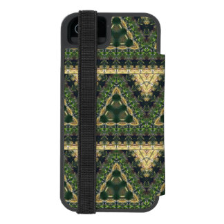 Spanish Moss Abstract iPhone SE/5/5s Wallet Case