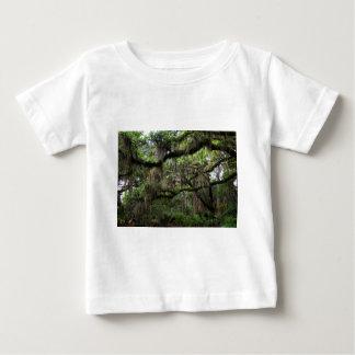 Spanish Moss Adorned Live Oak Baby T-Shirt