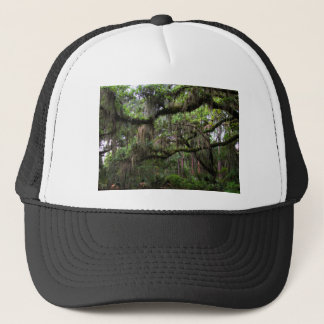 Spanish Moss Adorned Live Oak Trucker Hat