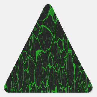 Spanish Moss Triangle Sticker