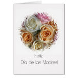 Spanish Mother's Day rose card