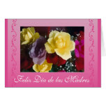 Spanish: Mother's Day roses / dia de las madres Greeting Card