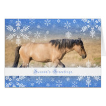 Spanish Mustang - 5x7 Holiday Card