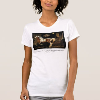 Spanish Mustang Barb Historic Horse T-shirts