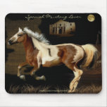 SPANISH MUSTANG BARB HORSE LOVER Mousepad
