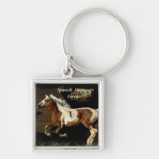 Spanish Mustang Horse Equine-lover's Keychain