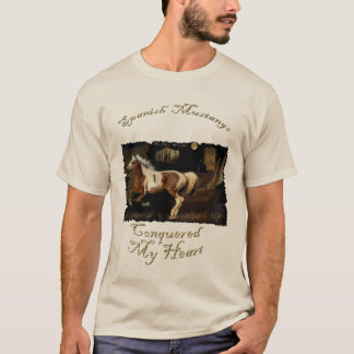 Spanish Mustang Horse-lover's T-shirt