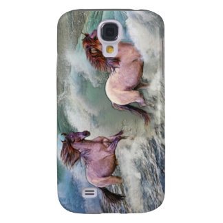 Spanish Mustang Horses & Beach Surf iPhone 3 Case
