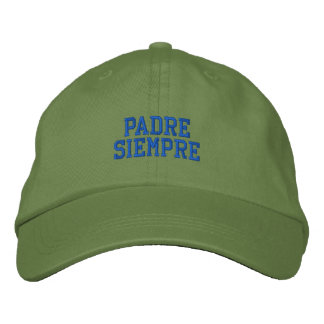 Spanish Padre Siempre Embroidered Cap Embroidered Baseball Cap