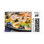Spanish Paella Postage Stamps