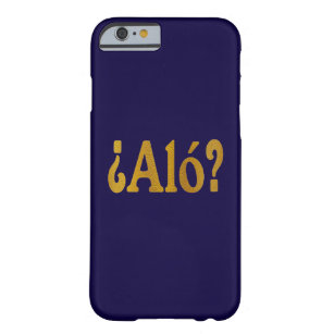 Spanish language iphone cases covers zazzle spanish phone greetings in gold 2 barely there iphone 6 case m4hsunfo