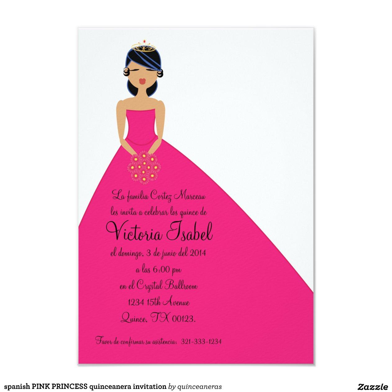 Princess Invitation Cards as Nice Sample To Make Lovely Invitations Sample