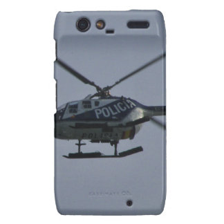 Spanish Police Helicopter Droid RAZR Cases