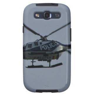 Spanish Police Helicopter Galaxy S3 Covers