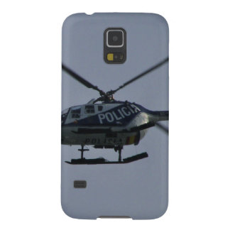 Spanish Police Helicopter Galaxy S5 Cover