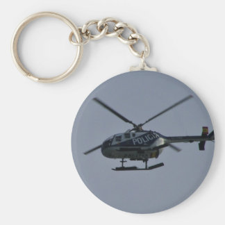 Spanish Police Helicopter Keychains