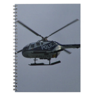 Spanish Police Helicopter Note Book