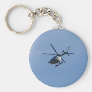 Spanish Police Messerschmitt Helicopter Key Chain