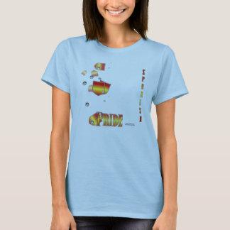 Spanish Pride Ladies Babydoll T-Shirt