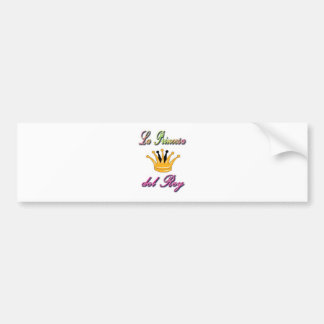 Spanish Princess of the King Bumper Sticker