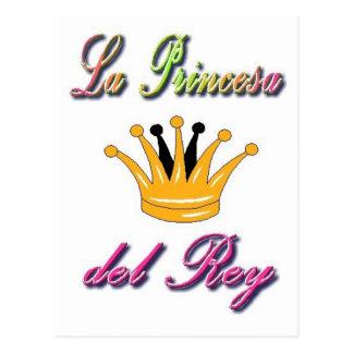 Spanish Princess of the King Postcard