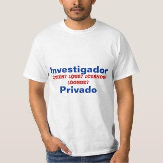 Spanish Private Investigator T-Shirt