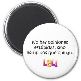 Spanish Quotes 2 Inch Round Magnet