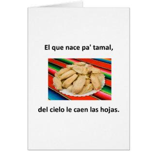 Spanish Quotes Card