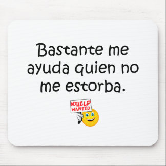 Spanish Quotes Mouse Pads