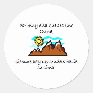 Spanish Quotes Sticker
