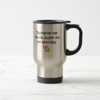 Spanish Quotes Travel Mug