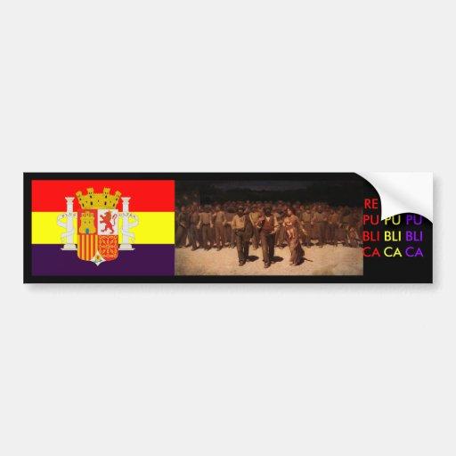 Spanish Republic Spain Bumper Stickers Zazzle