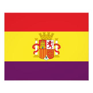 Spanish Republican Flag - Bandera República España Flyer