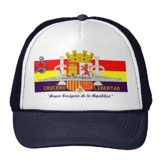 "Spanish Republican Navy Cruiser ""LIBERTAD"" Trucker Hat"