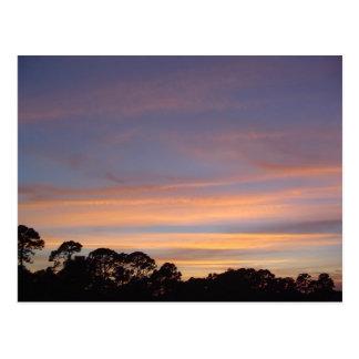 Spanish River Sunset Postcard