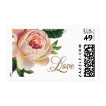 Spanish Rose A by Ceci New York Postage Stamps
