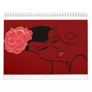 Spanish Rose Calender Calendar