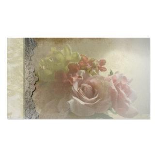 Spanish Rose quinceanera invite Business Cards