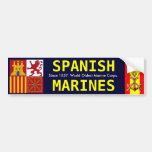 SPANISH ROYAL MARINES BUMPER STICKER