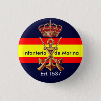 Spanish Royal Marines Button