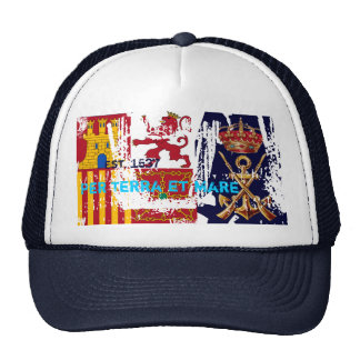 Spanish Royal Marines Old Salty Motto Trucker Hat