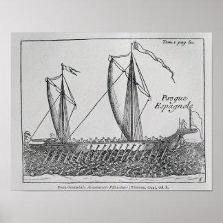 Spanish Ship' Poster